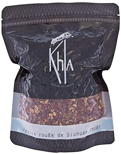 KHLA - Granos de pimienta roja de Szechuan - Comercio Justo - Bolsa de 150g