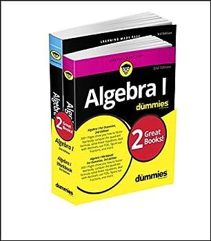 Algebra I For Dummies Book + Workbook Bundle  For Dummies  Math & Science