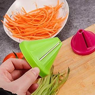 قطاعات يدوية - قطاعة خضروات حلزوني الجزر الفجل المقطعات أداة الطبخ أداة المطبخ أداة القمع نموذج القمع