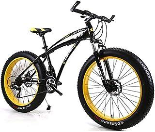 Brushes Moto de Nieve de Bicicletas de montaña neumático Ancho del Freno de Disco absorción de Choque de Bicicletas Estudi...