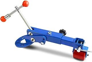 Fender Roller Tool Reforming Extending Auto Body Wheel Arch Roller Lip Flaring Former (Blue)