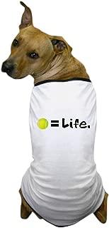 CafePress - Tennis Ball = Life - Dog T-Shirt, Pet Clothing, Funny Dog Costume