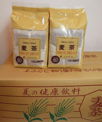 業務用 国産麦茶ティーバッグ 10g 100p 10袋入り (北海道、沖縄、離島を除き送料込み)
