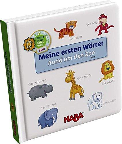 HABA 5962 - Bildwörterbuch: Meine ersten Wörter - Rund um den Zoo