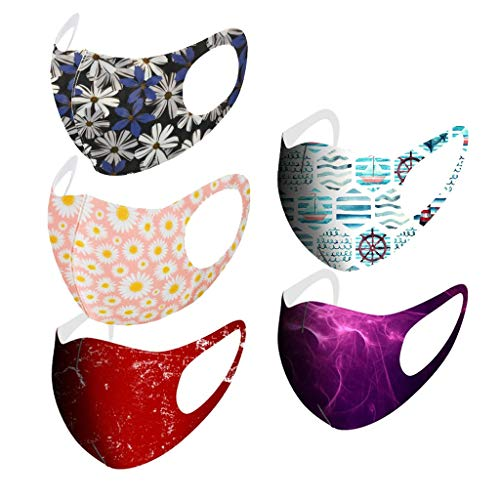 5PC Face Protection for Adults R...