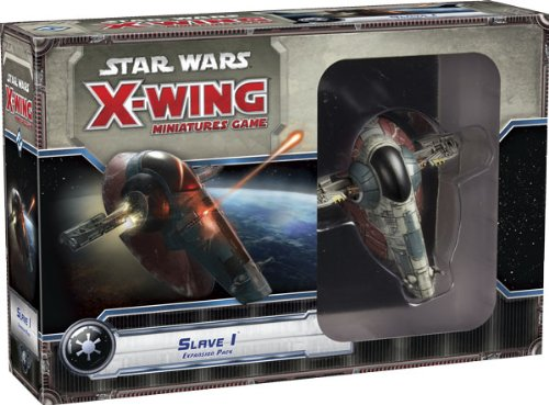 Asmodee HEI0407 - Star Wars X-Wing - Sklave 1, Erweiterungs Pack