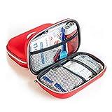 Finoki Verbandskasten Auto, Erste-Hilfe Koffer Verbandtasche gefüllt für Auto, 14Stk