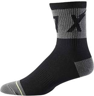 """Fox 6"""" Trail Socks Wurd Black 2020"""