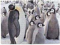 大人のための皇帝ペンギン500ピースジグソーパズルキッズゲームおもちゃクリスマスギフトの装飾