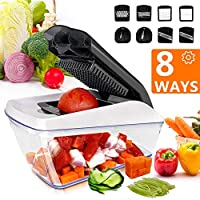 Fun Life 8-in-1 Vegetable and Onion Choppers