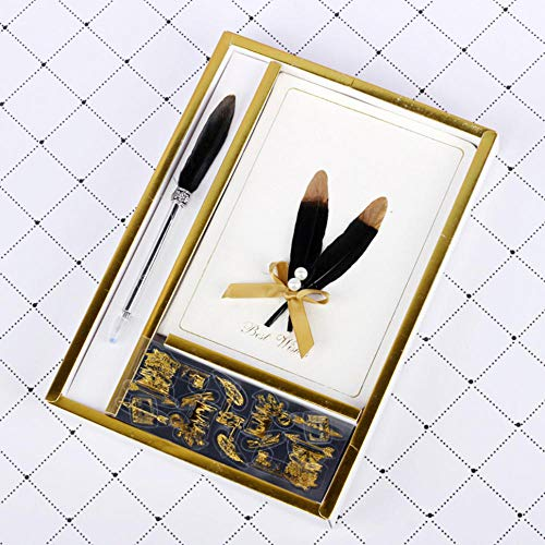 Gyjcd Kladblok Gift Box Set Mode Gift Gift Qingyu Notebook Set Briefpapier Set Feather