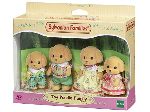 Sylvanian Families - 5259 - Toy-Pudel: Familie Wuschl