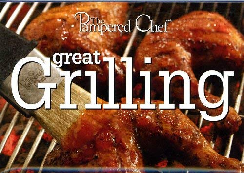 The Pampered Chef Great Grilling Recipe Card Collection #2848