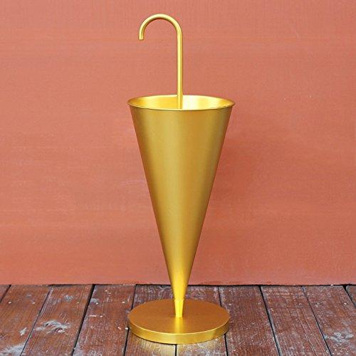 Stockage debout Porte-parapluie/porte-parapluie (Color : Gold)