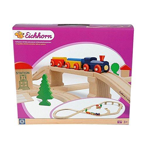 Eichhorn - 100001203 - L'ensemble train - cercle - 8-45 pièces