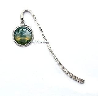 Summer Solstice Bookmark, Summer Solstice Bookmarker, Full Moon Bookmarker, Solstice Jewelry, Wiccan Jewelry, Beltane Bookmark,RN415 (G1)