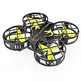 SNAPTAIN H823H Mini Drone Enfant, Drone Jouet, 21 Mins Autonomie, 3 Batteries, Hélicoptère Télécommande, Mode sans Tête, 360°Flips, Maintien d'Altitude, Facile à Jouer pour Enfants et Débutants, Jaune