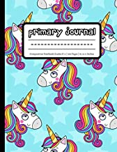 Primary Journal: Unicorn Composition Notebook Grades K-2 | Dotted Midlines and Picture Space for Drawing | Primary Ruled | 100 Pages | Large, 8.5 x 11 Inches | Aqua PDF