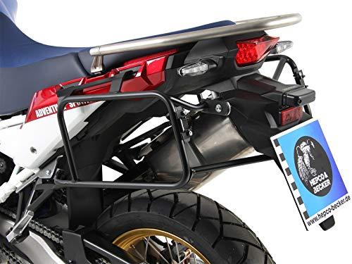 Hepco & Becker - Portaequipajes atornillado para Honda CRF1000L Africa Twin a Partir de 2018, Color Negro