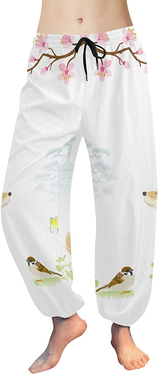 Harem Pants for Women Cute 67% OFF of Cheap super special price fixed price Cartoon Inu Shiba Work Yoga Dog