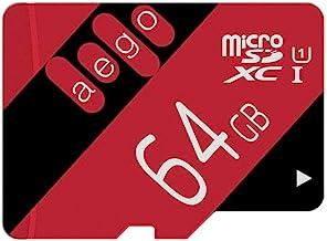 AEGO 64 GB Micro SD Card UHS-1 microSD Card Memory Class 10 Card Card برای Wyze Cam / Tablet / Nintendo / GoPro با آداپتور-U1 64GB