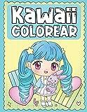Colorear Kawaii: Libro para Colorear de Tiernos y Amables Personajes Kawaii para Niños de 3 a 9 Años...