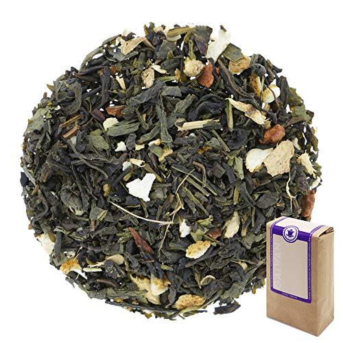 """N° 1220: Tè verde biologique in foglie """"Green Magic (Magia Verde)"""" - 1 kg - GAIWAN® GERMANY - tè in foglie, tè bio, tè verde dalla Cina, tè cinese, cassia, zenzero, arancia, chiodi di garofano, 1000 g"""