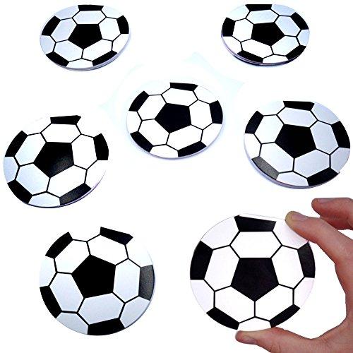 German-Trendseller® - 12 x Notizblöckchen - Fußball - für Kinder ★ NEU ★ ┃ Kindergeburtstags ┃ Mitgebsel ┃ 12 Stück