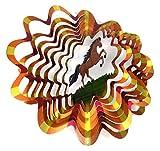 WorldaWhirl Whirligig 3D Wind Spinner Hand...