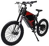 GJJSZ 72V 3000WFC-1 Amortiguador Delantero y Trasero Soft Tail All Terrain Bicicleta de montaña eléctrica Potente Bicicleta eléctrica Ebike Mountain