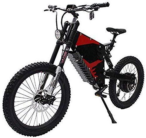 Gpzj 72V 3000WFC-1 Ammortizzatore Anteriore e Posteriore Coda Morbida all Terrain Mountain Bike elettrica Bicicletta elettrica Potente Mountain Bike elettrica
