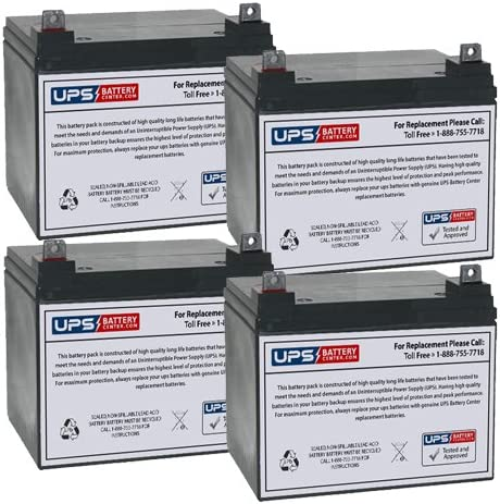 25% OFF Alpha Technologies Easy-to-use CFP 5000C Compatible Set Battery Replacement