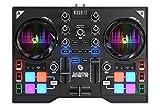 DJ Hercules DJ Control Instinct P8 - Mesa Mezclas DJ [ultraportátil con 8 Pads de Samples y Salidas...
