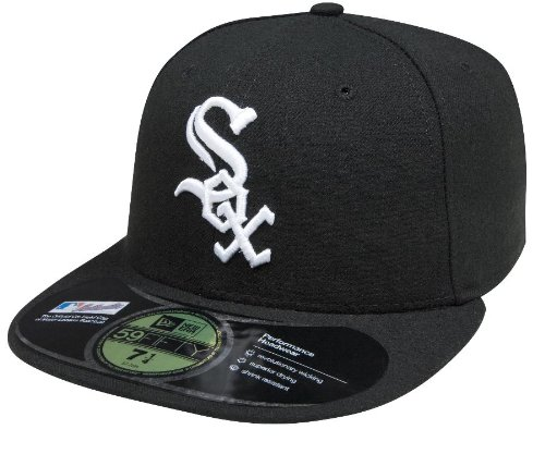 MLB Chicago White Sox Game AC On Field 59Fifty Fitted Cap-758 Authentic Fitted Hat Game