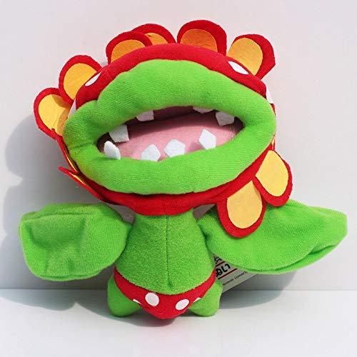 siqiwl Plüschtier Super Mario Piranha Pflanze Piranha Plüsch Puppe Spielzeug 6,5  cm