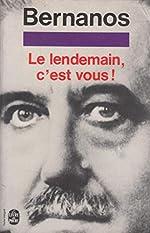 Le Lendemain, c'est vous de Georges Bernanos