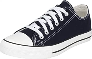 S-3 Women's Low Top Classic Canvas Fashion Sneaker