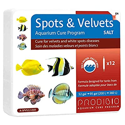 Prodibio - Soin Maladies Spots & Velvets pour Aquarium - x12