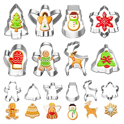 Holiday Cookie Cutters (14 pieces)