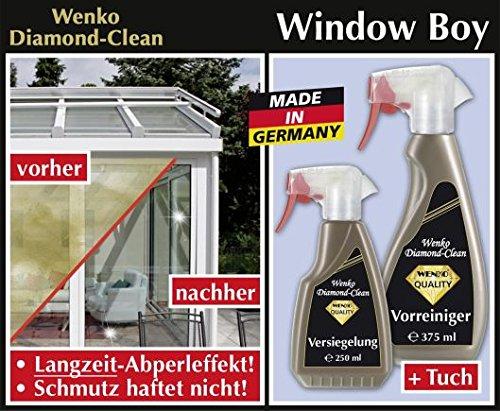 Wenko Diamond Clean Window Boy, Fester-Reinigungs-Set