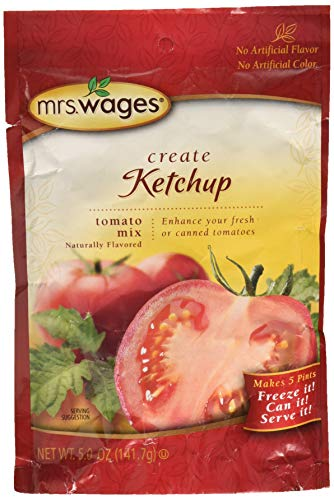 Mrs. Wages Ketchup Mix, 5-Ounce Packages (Pack of 6)