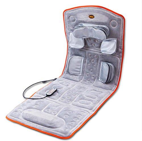 Masaje colchón cuerpo entero cervical cintura espalda multifuncional hogar masaje cojín ancianos...