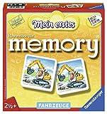 Ravensburger 21437 - Mein erstes memory Fahrzeuge, der Spieleklassiker für die Kleinen, Kinderspiel für alle Fahrzeug-Fans ab 2 Jahren - William H. Hurter