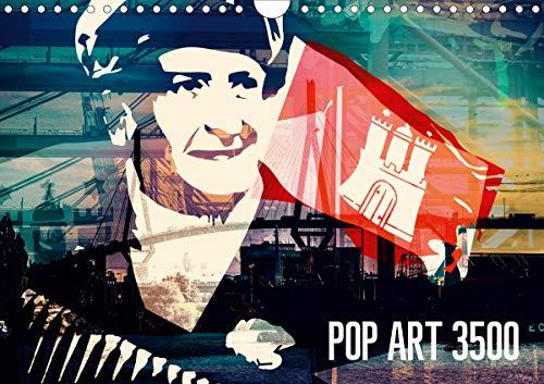 POP ART 3500 (Wandkalender 2021 DIN A4 quer)