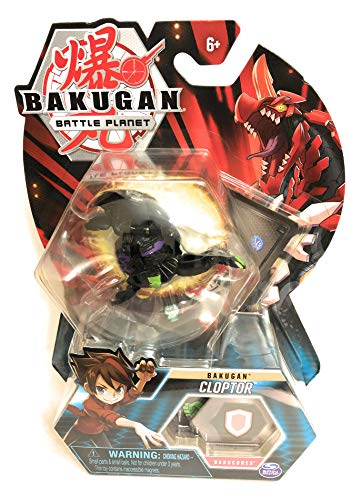 """Bakugan, Darkus Cloptor, 2"""" Tall Collectible Transforming Creature, for Ages 6 & Up"""