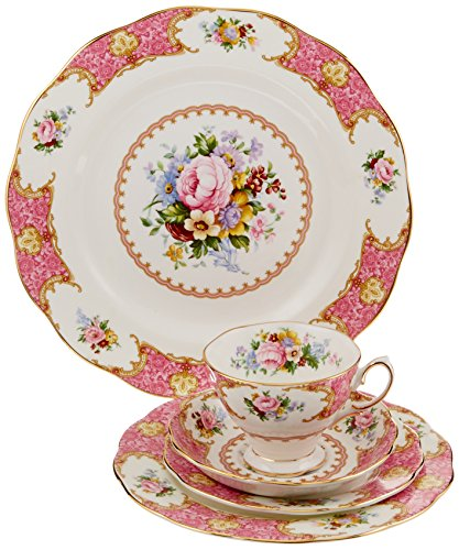 Royal Albert Lady Carlyle 5-Piece Place Setting, Service for 1,Multi