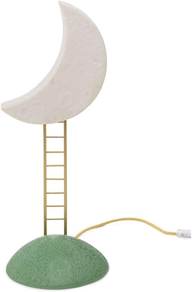 Lampada da tavolo seletti, my secret place,in vetro e metallo 14808