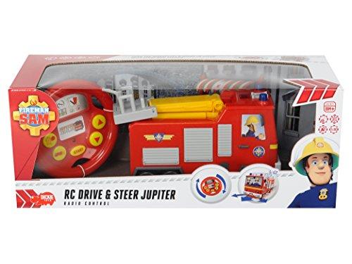 Dickie Toys - 203097000 - Camion de pompier - IRC Fireman Sam Drive & Steer Jupiter