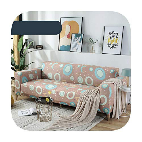 Sofa covers Classic Leopard Stretch Chair Couch Cover for Living Room Plaid Polyester Slipcovers Vintage Printed Corner L-Shaped Sofa Covers-Color3-1 Pillowcase