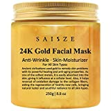 Cosprof 24K Gold Facial Mask for Anti Wrinkle Anti Aging Facial Treatment,Wrinkles and Fine Lines Minimizer,Acne Scar Treatment & Blackhead Remover- 8.8 Oz